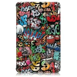 Tri-fold Fodral för Lenovo Tab M8 - Graffiti