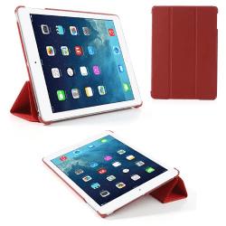 Tri-fold fodral till iPad Air, Röd