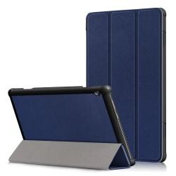 Tri-Fold Fodral till Lenovo Tab M10 - Blå