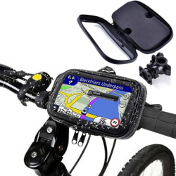 Vattentät Cykelhållare för iPhone 6Plus/6SPlus mfl
