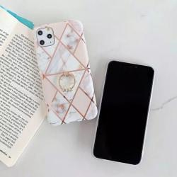 Iphone 11 Mobilskal med ringhållare, 2fab.