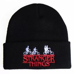 Stranger Things mössa svart
