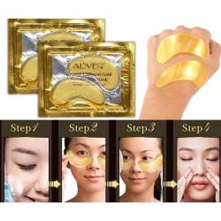 25 pairs 24K Gold Powder Gel Collagen Eye Mask, Collagen Eye