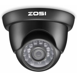 2MP HD 1080p 4-in-1 Dome Video Surveillance Camera with OST Butt