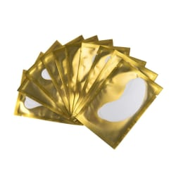 50 Pairs Eye Pads Eyelash Extension Yellow