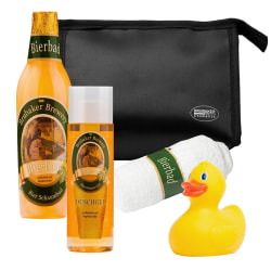 Beer Gift Set for Men Includes Wash Bag, Wash Cloth and Rubber