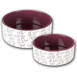 ceramic bowl, stylish sturdy dog bowl in a modern design.0.8 L