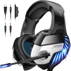 Gaming Headset for PS4, Surround Sound PS4 Headset PC Headset
