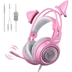 Gaming Headset with Microphone,