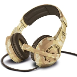 GXT 310D Radius Gaming Headset with Adjustable Microphone 	Desert camo