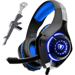 Headset PC Gaming Headset Stereo Surround Sound Over-Ear Gaming