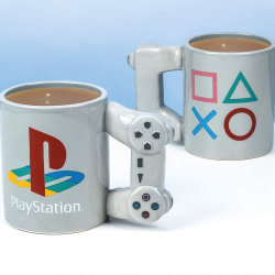 Playstation PS4 Controller Mug Dual Shock Coffee Tea Cup