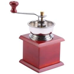 Premium manuell kaffekvarn retro design kaffe