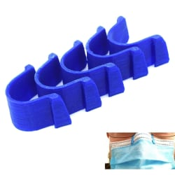 5x Anti-dim näsklämma för munskyddsmask Blue 5x Blå