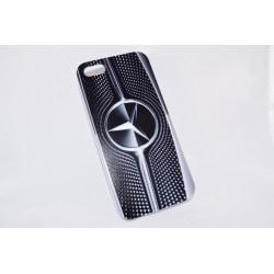 Apple Iphone 4 4S Skal Fodral Skydd Märke Benz Svart