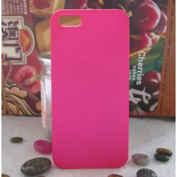 Apple Iphone 4 4S Skal Skydd Matte Case Rosa Rosa