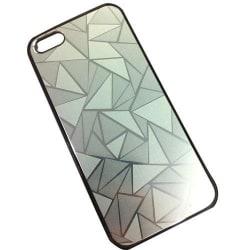 Apple Iphone 5 5S Skal Cover Skydd Vatten Kub Case Silver Silver