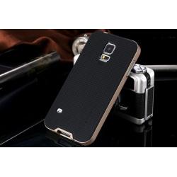 Galaxy S5 Neo hybrid skal skydd case guld Guld
