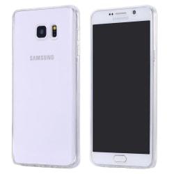Galaxy S6 komplett mobil 360 mjuk skal case transparent Transparent