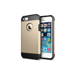 Iphone 5 5S Tough Armor Cover Skal Skydd Case Guld Guld