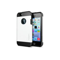 Iphone 5 5S Tough Armor Cover Skal Skydd Case Vit Vit