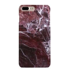 Iphone 6/6S 4,7 marble skal skydd case röd Röd