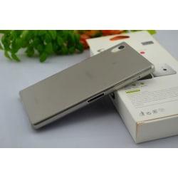 Sony Xperia Z1 L39h Skydd Skal Case Grå grå