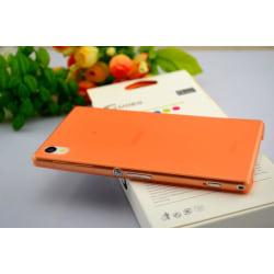 Sony Xperia Z1 L39h Skydd Skal Case Orange Orange