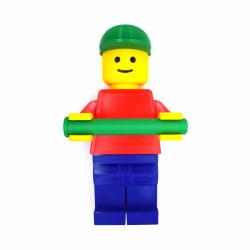 Toalettpappershållare för barn Lego 35 cm lång multifärg
