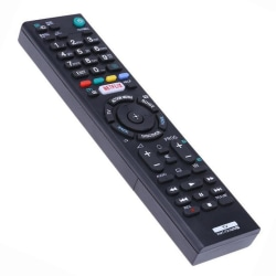 Universal RMT-TX100D fjärrkontroll ersätter Sony HDTV LED Svart