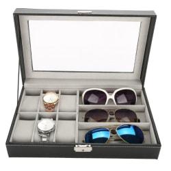 Glasögon 3 st och Klockbox 6 st