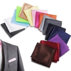 Näsduk modern för kostymficka - flera färger Vit