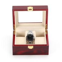 Watchbox / klockbox för 3 klockor i trä