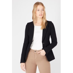 Blazer Black Twinset Woman UK 14 - XL