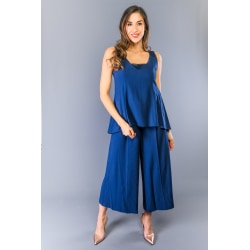 Dress Blue Twinset Woman 42