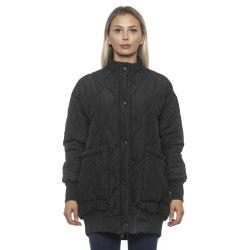Jacket Black Alpha Studio Woman 38