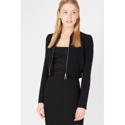 Jacket Black Twinset Woman UK 8 - S