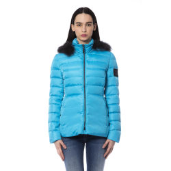 Jacket Light Blue Byblos Woman UK 12 - L