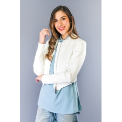 Jacket White Twinset Woman XS