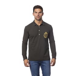 Long sleeves polo Military green Billionaire Man L