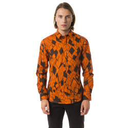 Long sleeves shirt Orange Byblos Man