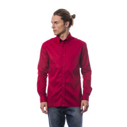 Long sleeves shirt Red Roberto Cavalli Man L