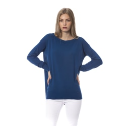 Pullover Blue Trussardi Woman S