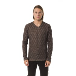 Pullover Brown Byblos Man M
