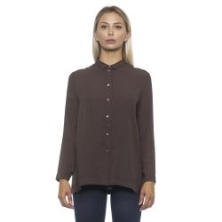 Shirt Brown Alpha Studio Woman 42