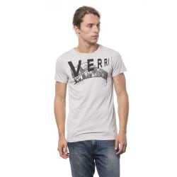 Short sleeve t-shirt grey Verri Man XXL