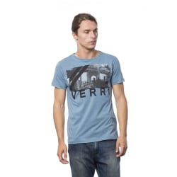 Short sleeve t-shirt Light Blue Verri Man XXL