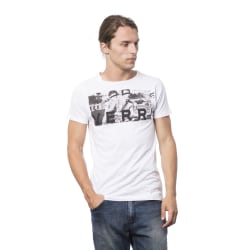 Short sleeve t-shirt White Verri Man