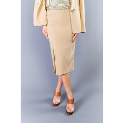 Skirt Beige Twinset Woman 42