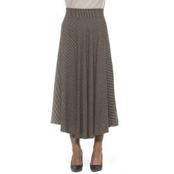 Skirt Brown Alpha Studio Woman 42